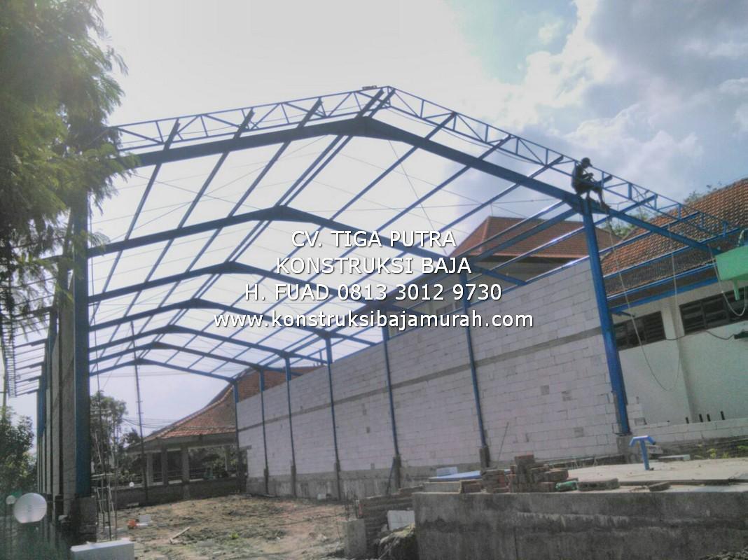 Bengkel Las Fabrikasi Konstruksi Baja