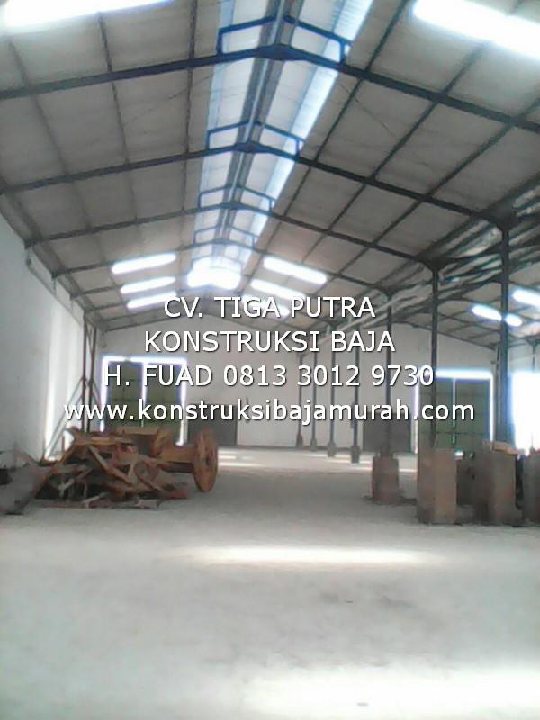 Borong Kerja Konstruksi Rp. 3000 per Kg | Pemborong KONSTRUKSI BAJA