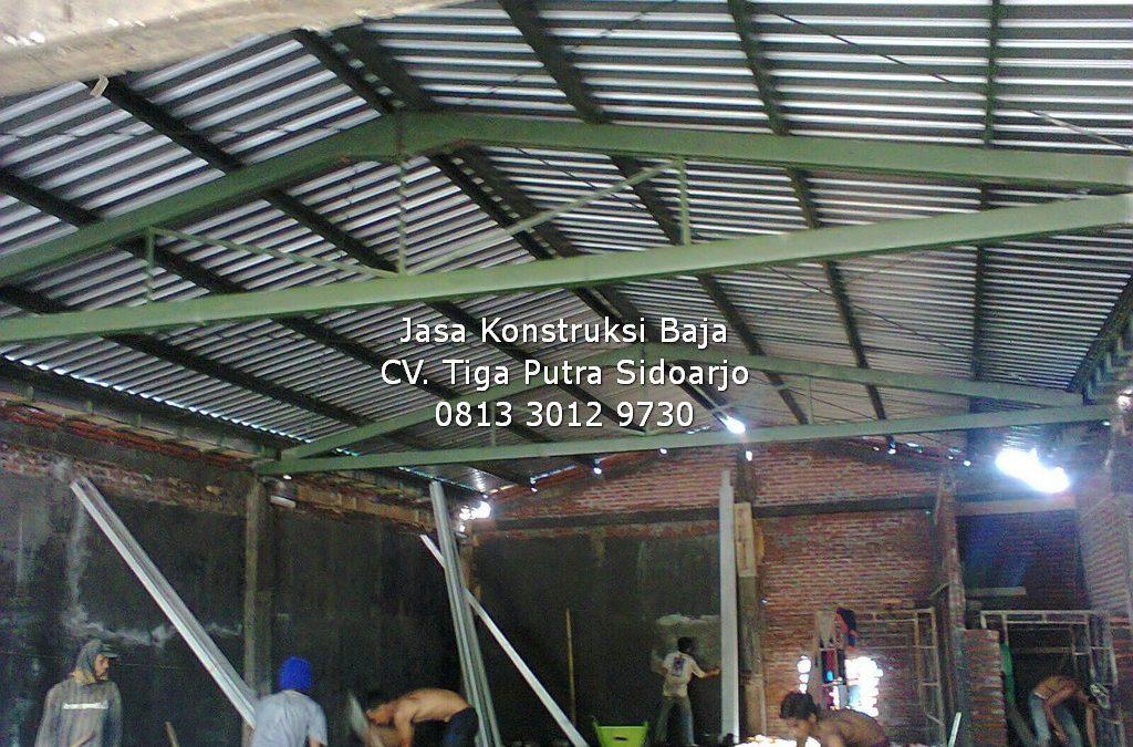 Konstruksi Baja Ruko Indomaret | H. YAYAR FUAD 0813 3012 9730