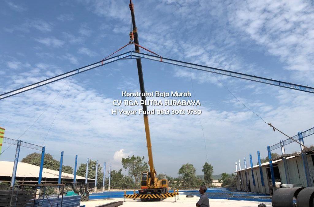 Borong Kerja Konstruksi Baja Berat – H. YAYAR FUAD 0813 3012 9730