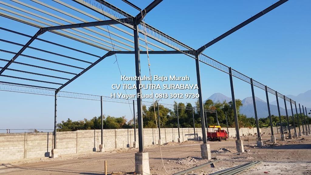 Jasa Konstruksi Baja – Bangunan Pabrik & Industri di Bali – CV Tiga Putra H. YAYAR FUAD 081330129730