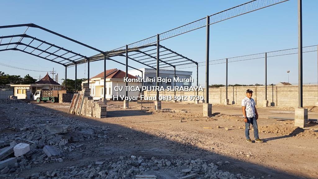 Jasa Konstruksi Baja / Harga Konstruksi Baja Ringan Murah – H. YAYAR FUAD 0813 3012 9730