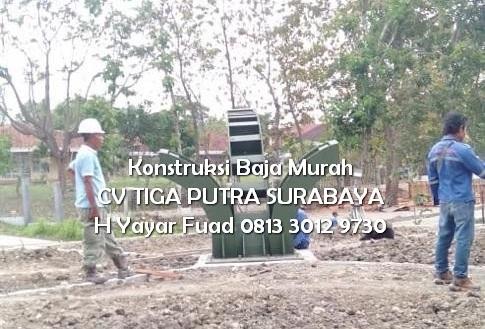 Konstruksi Baja Pondasi Rangka Pesawat Kolam Renang Migas Cepu – H. YAYAR FUAD 0813 3012 9730