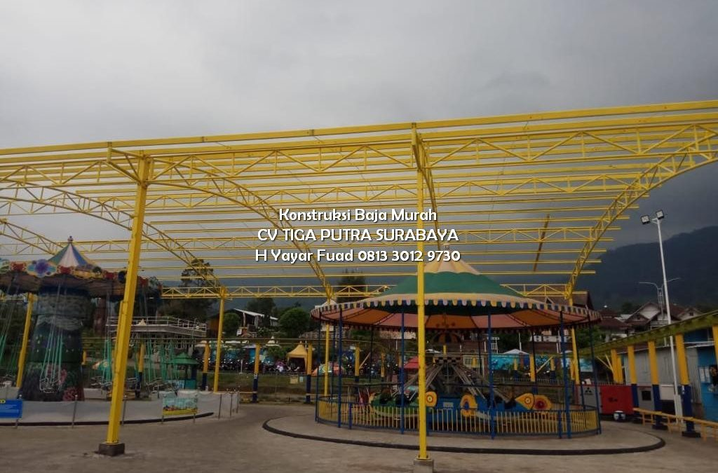 Jasa Pembuatan Kanopi Dome Jakarta Bandung Surabaya Makasar – CV. TIGA PUTRA – KONSTRUKSI BAJA – H. YAYAR FUAD 0813 3012 9730
