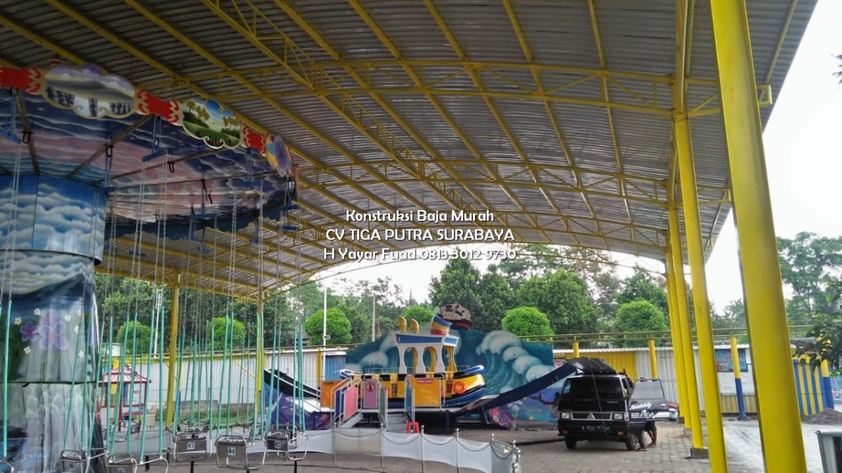 Kanopi Dome Lengkung Konsep Terbaru – H. YAYAR FUAD 0813 3012 9730