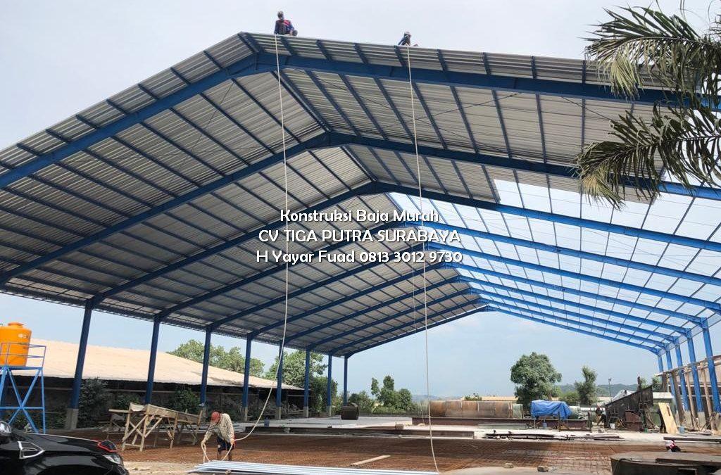 Konstruksi Baja WF, CNP, H-Beam + Panel Lantai – Yayar Fuad 0813 3012 9730