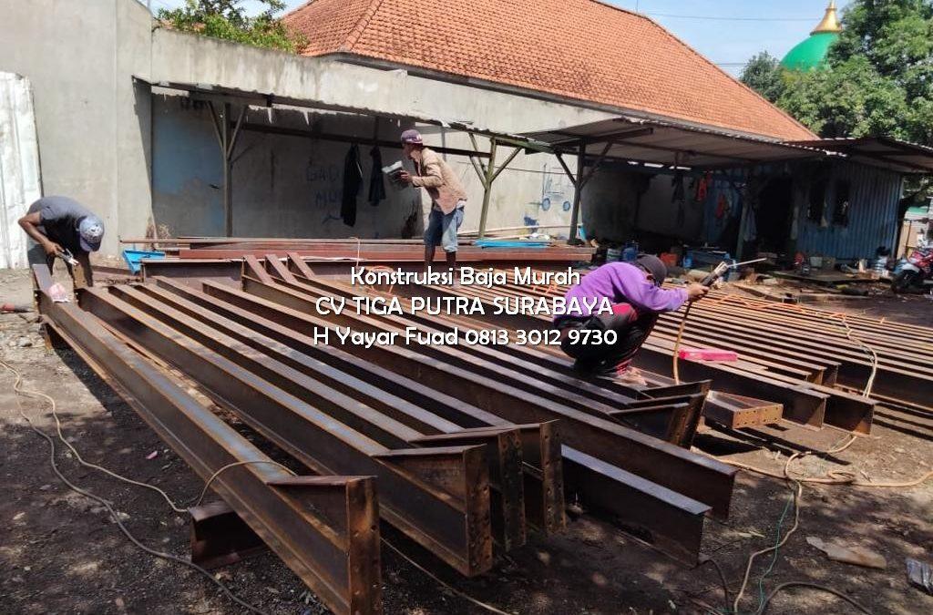 Jasa Konstruksi Baja –  Untuk Proyek Anda di Masa Depan – H. YAYAR FUAD 0813 3012 9730