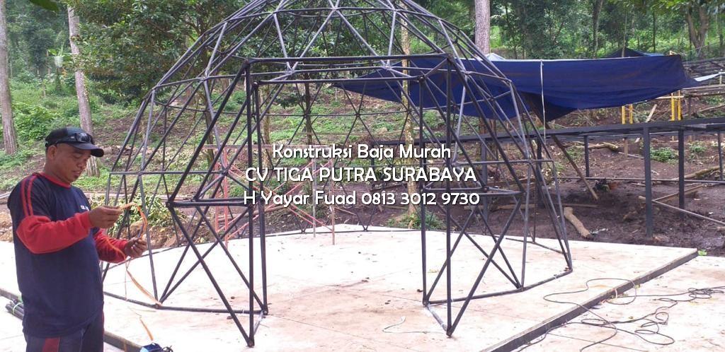 Konstruksi Glamping Wanawisata Padusan Pacet Mojokerto – H. YAYAR FUAD 0813 3012 9730