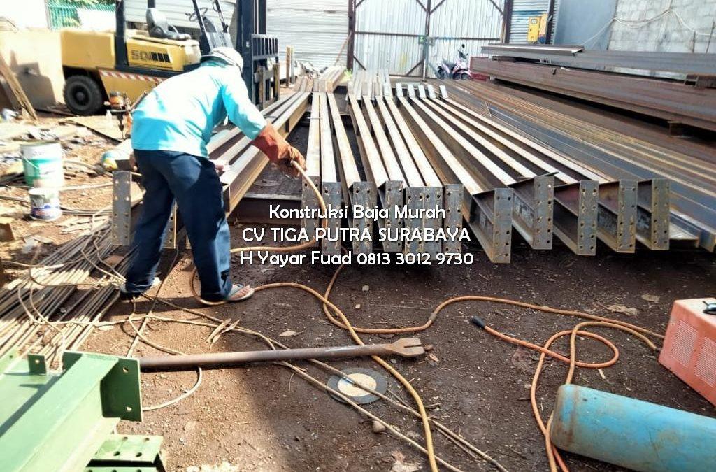 Bengkel Las Konstruksi Baja Surabaya – H. YAYAR FUAD – CV. TIGA PUTRA 0813 3012 9730