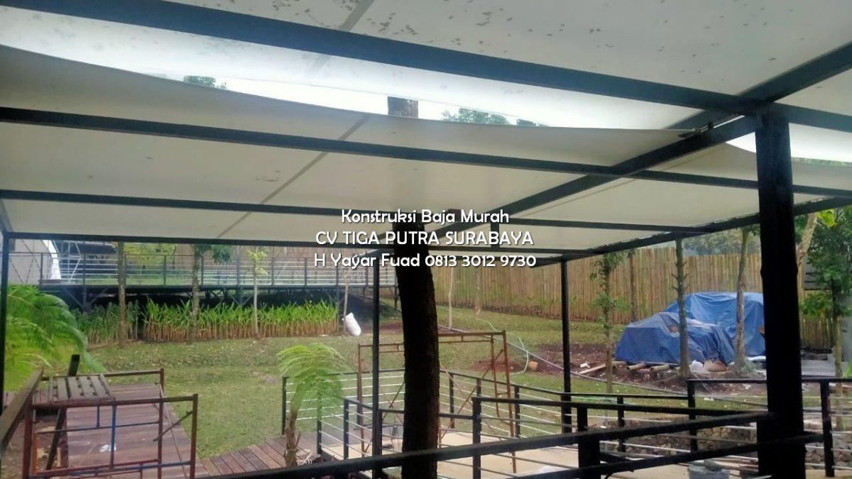 Harga Canopy Kain Per Meter – Tenda Membrane Canopy Kain – H. YAYAR FUAD 0813 3012 9730