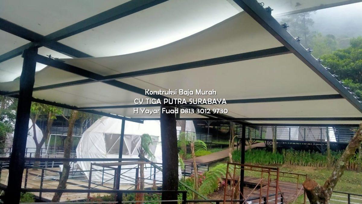 Jasa Kanopi Membrane Surabaya – Berpengalaman – H. YAYAR FUAD 0813 3012 9730