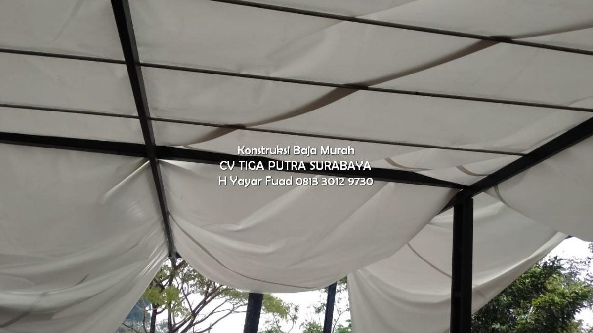 Jasa Tenda Membran Kanopi Surabaya Terpercaya Bergaransi – H. YAYAR FUAD 0813 3012 9730