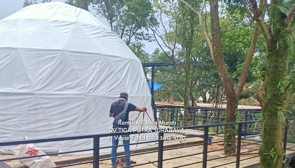 Jasa Pembuatan Tenda Glamping Berkualitas Untuk Resort dan Hotel – H. Yayar Fuad 0813 3012 9730