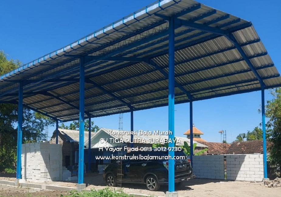 Kontraktor Baja CV. TIGA PUTRA – Kontraktor Pabrik & Gudang Terbaik Jasa Konstruksi Baja Bangunan Gedung Gudang – H. YAYAR FUAD 0813 3012 9730