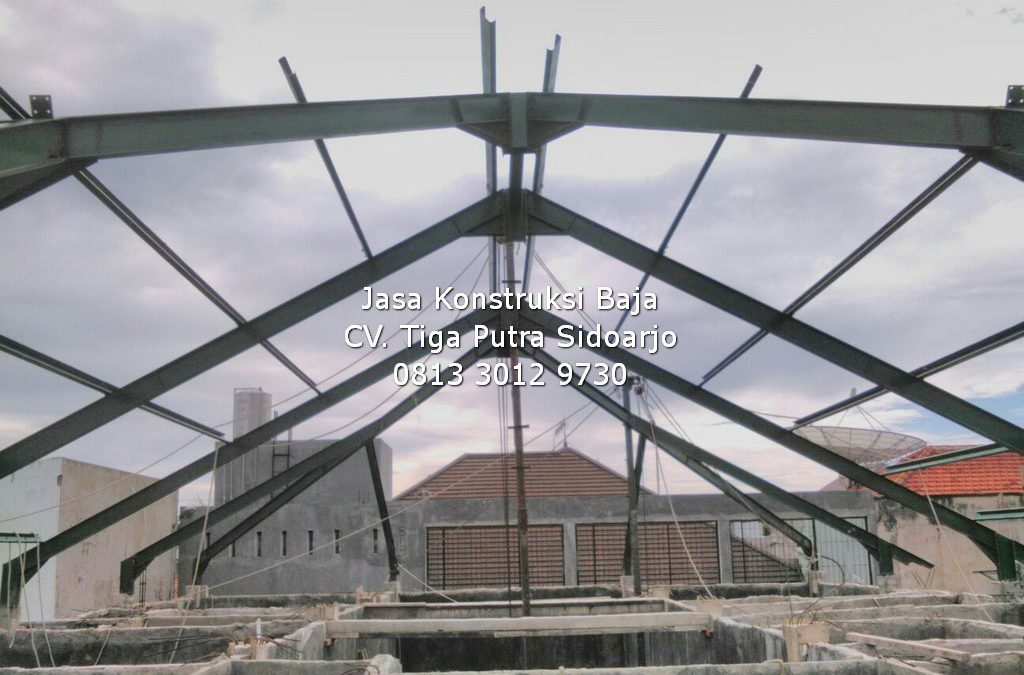 Pasang Rangka Atap Baja Masjid Musholla | H. YAYAR FUAD 0813 3012 9730