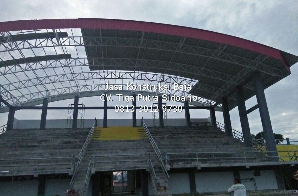 Konstruksi Baja Tribun Stadion | H. YAYAR FUAD 0813 3012 9730