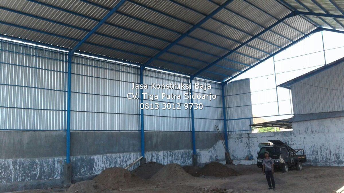 Konstruksi Baja WF, CNP, H-Beam + Panel Lantai | H. YAYAR FUAD 0813 3012 9730