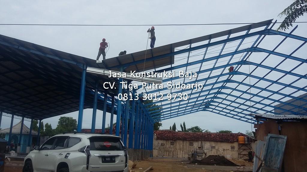 Konstruksi Baja Pujasera Sumenep | H. YAYAR FUAD 0813 3012 9730