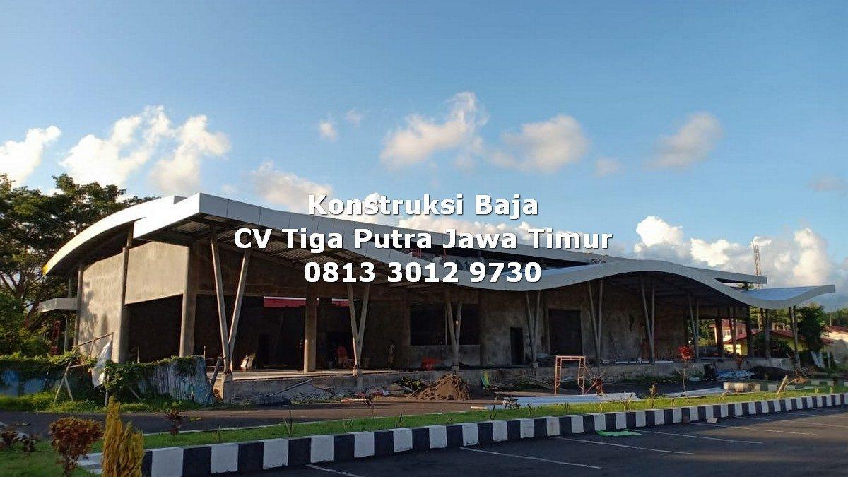 Konstruksi Atap Lengkung – H. YAYAR FUAD 0813 3012 9730
