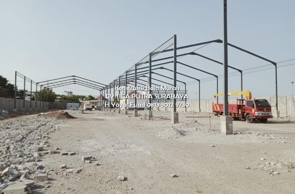 Konstruksi Baja Pabrik Kayu Ngoro Mojokerto – H. YAYAR FUAD 0813 3012 9730