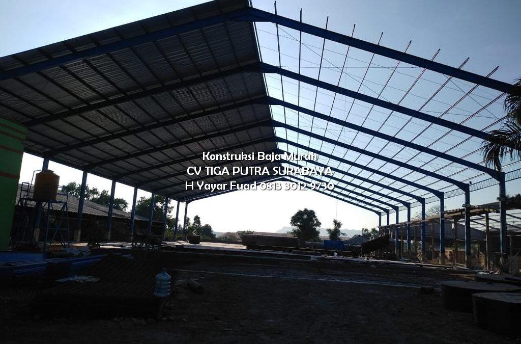 Biaya Pembuatan Gudang Rangka Baja Terbaru – Kontraktor Gudang & Pabrik – H. YAYAR FUAD 0813 3012 9730