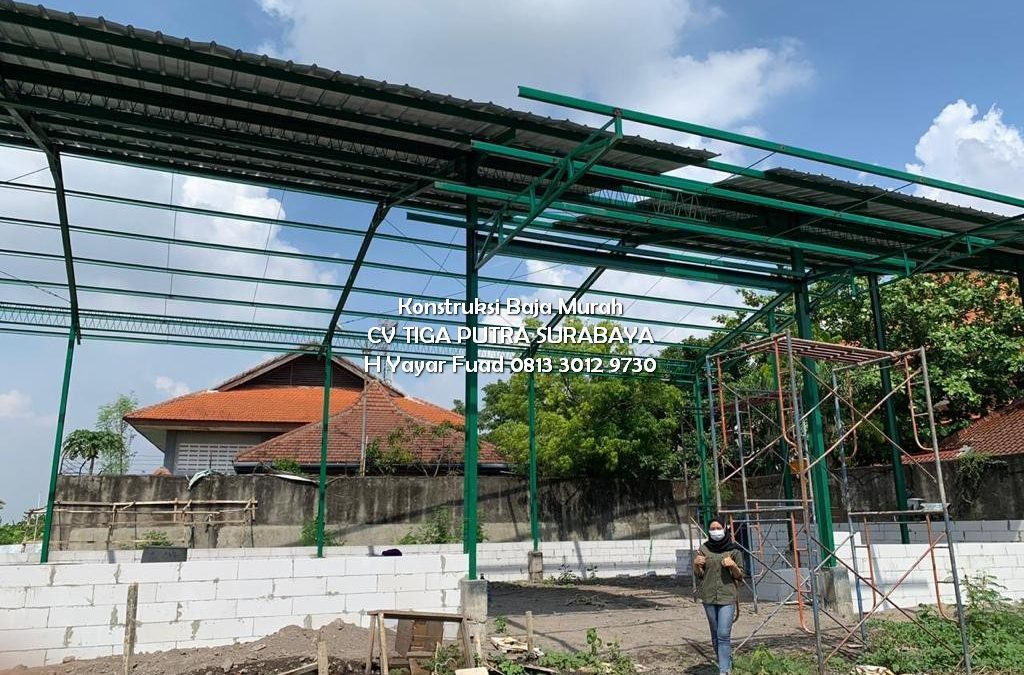 Jasa Konstruksi Baja Surabaya Sidoarjo & Rangka Baja Murah – H. YAYAR FUAD 0813 3012 9730