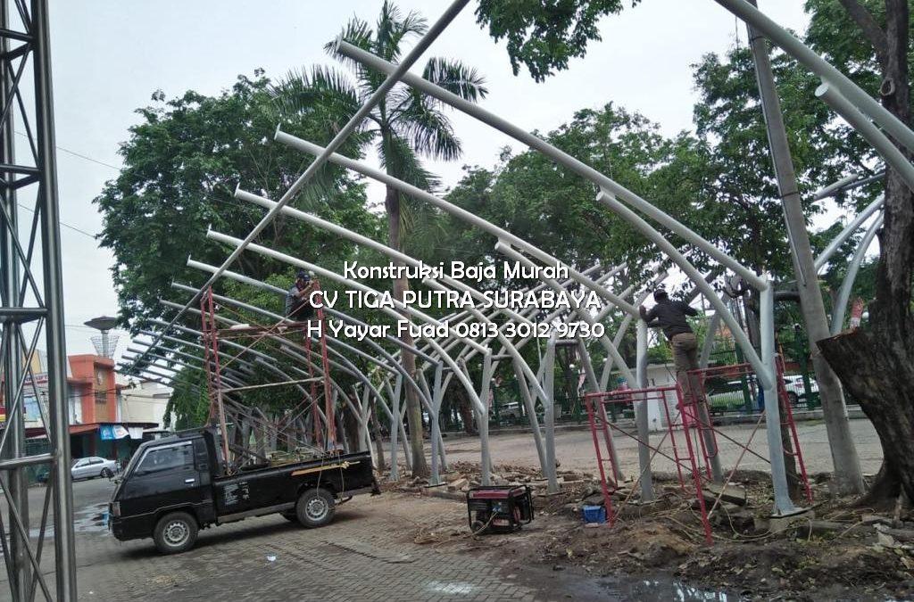 Harga Kanopi Lengkung Per Meter kota Surabaya – H. YAYAR FUAD 0813 3012 9730