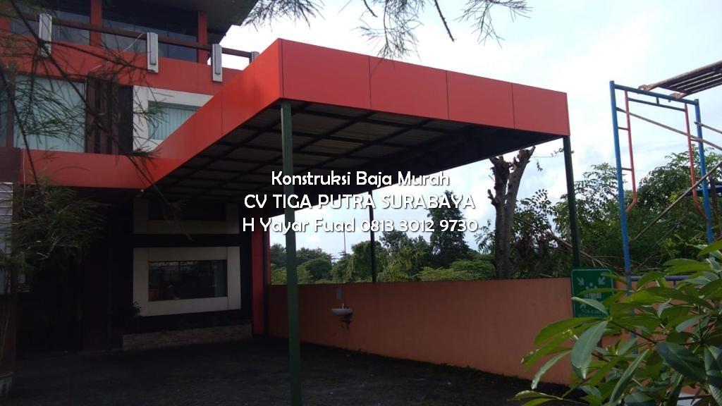 Harga Kanopi Minimalis Hollow Murah Terbaru Area Surabaya Sidoarjo Mojokerto Pasuruan | H. YAYAR FUAD – CV. TIGA PUTRA 0813 3012 9730