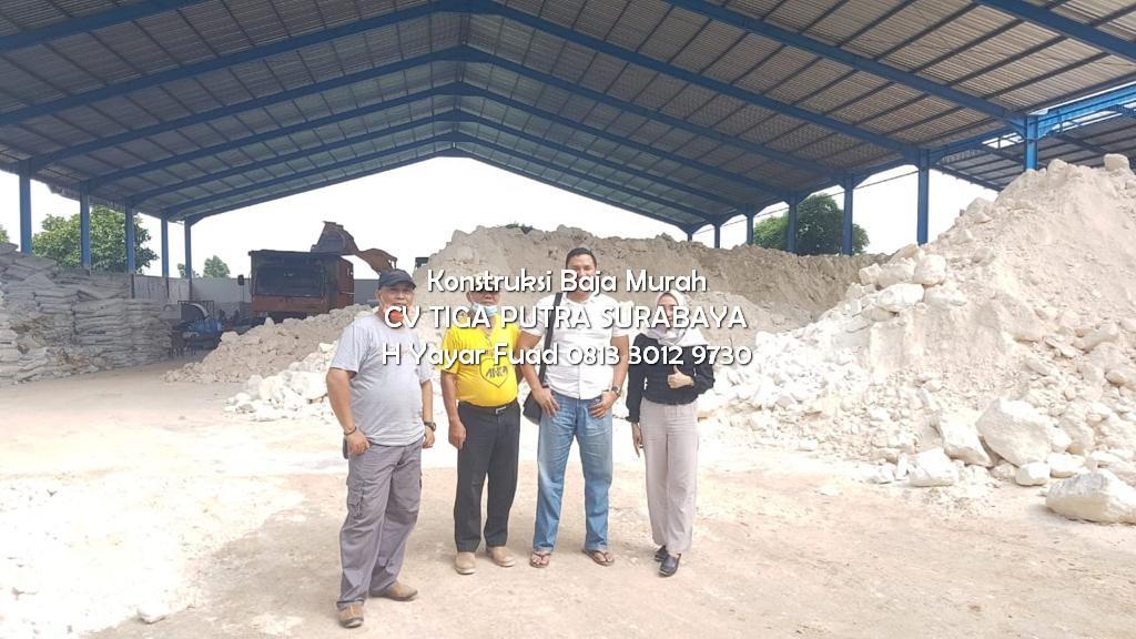 SIAPA BILANG BIKIN GUDANG MAHAL – Konstruksi Baja Gudang dan Pabrik Bentangan – H FUAD 0813 3012 9730