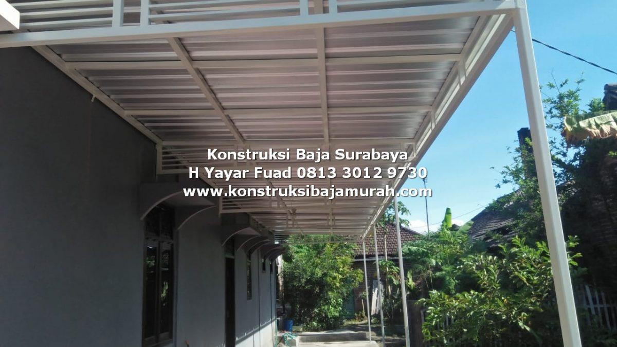 Kanopi Minimalis Modern Model Terbaru Surabaya Sidoarjo – H YAYAR FUAD 0813 3012 9730