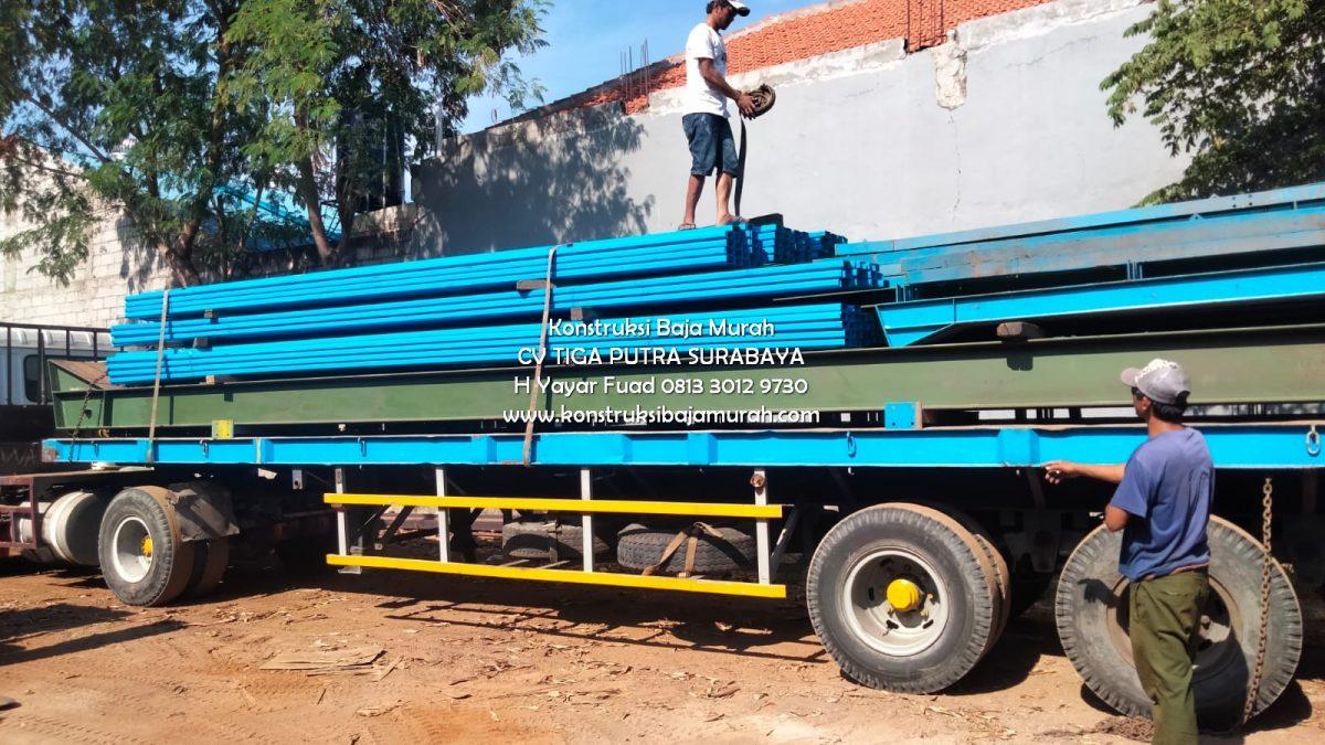 Kontraktor Spesialis Konstruksi Atap Baja WF Untuk Gudang, Pabrik Surabaya Sidoarjo Madura Gratis Konsultasi Harga Dijamin Pasti Cocok – H. YAYAR FUAD 0813 3012 9730