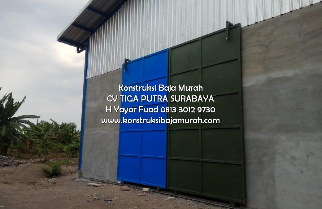 Proyek Pekerjaan Konstruksi Baja Gudang Pabrik Rokok Tanggulangin Sidoarjo – H. YAYAR FUAD 0813 3012 9730